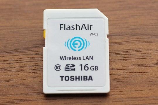 Wifi機能付SDカードFlashairを購入レビュー!