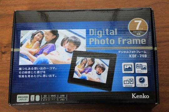 Kenkoのデジタルフォトフレーム KDF-740を購入レビュー