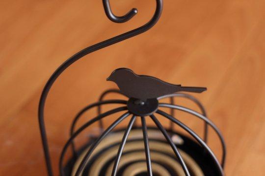 蚊取線香小鳥ケース
