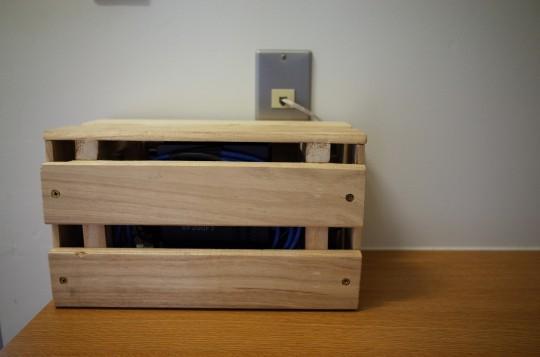 スノコルーター収納ボックス設置