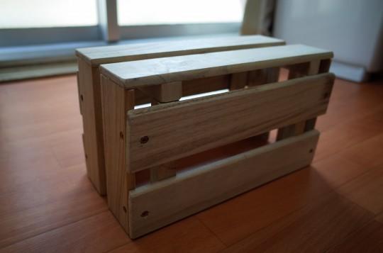 スノコルーター収納ボックス