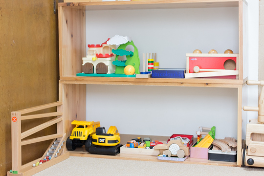 おもちゃスペース