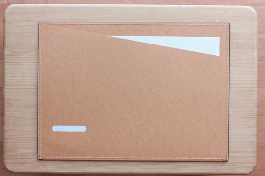 totonoe-Carry Board裏へ紙をセット
