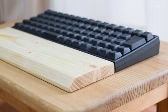 【DIY】HHKB用にウッドパームレストを自作!作り方を紹介するよ