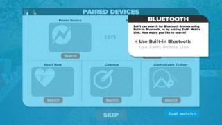 ZwiftでBlueToothセンサーが上手く接続できない時の対処方法