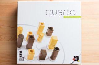 おしゃれ4目並べゲーム『クアルト!(QUARTO!)』を買ってみた