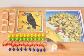 2才から遊べるボードゲームHABA「果樹園ゲーム」レビュー