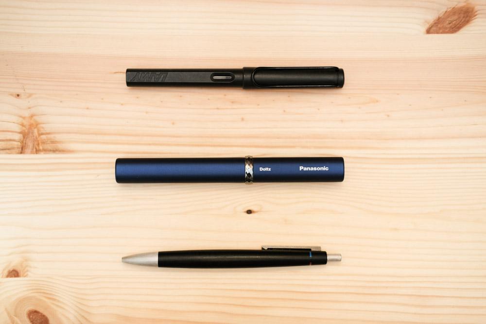 ポケットドルツ「EW-DS1C」ペンと比較
